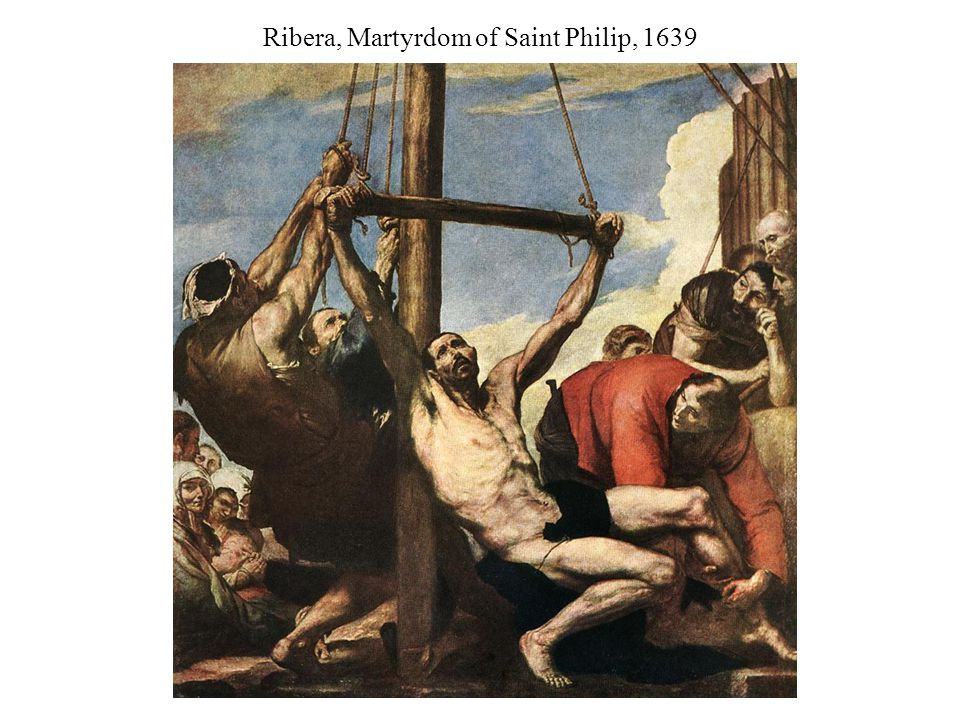 Ribera, Martyrdom of Saint Philip, 1639