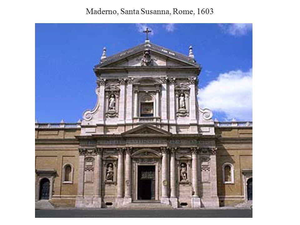 Maderno, Santa Susanna, Rome, 1603