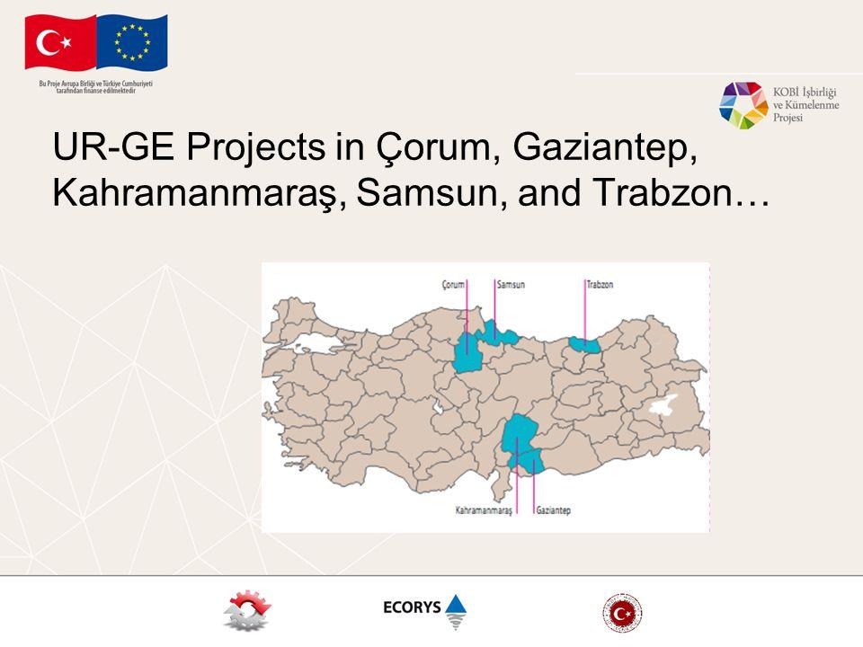 UR-GE Projects in Çorum, Gaziantep, Kahramanmaraş, Samsun, and Trabzon…