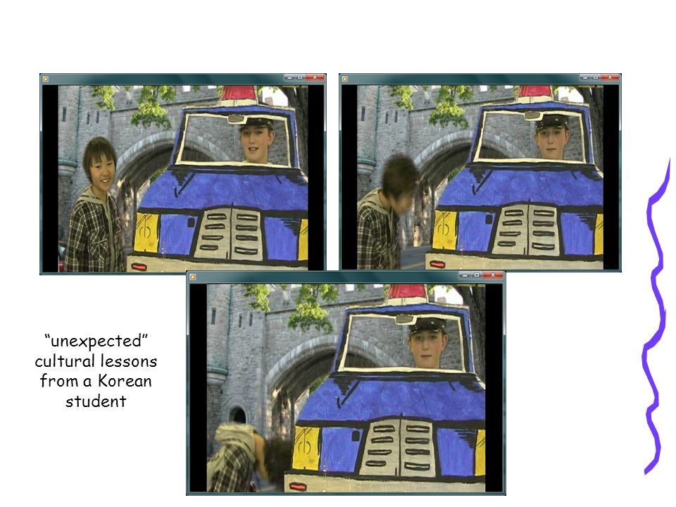 unexpected cultural lessons from a Korean student
