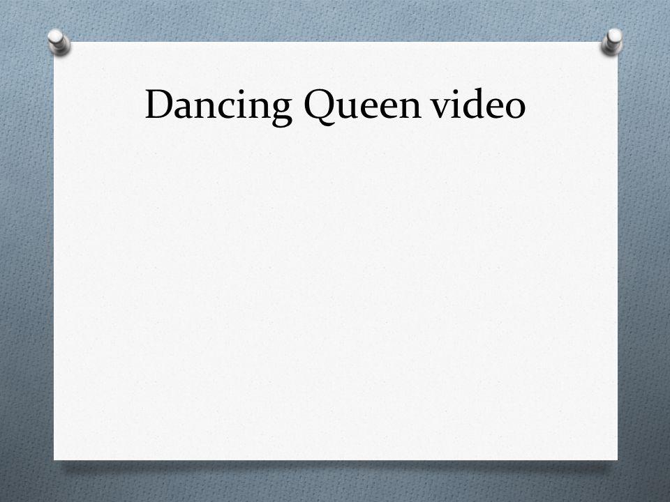 Dancing Queen video