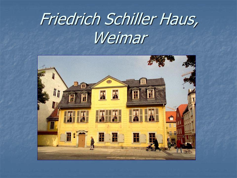 Friedrich Schiller Haus, Weimar