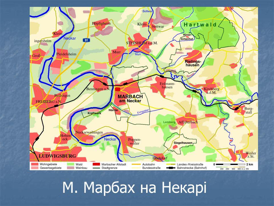 М. Марбах на Некарі