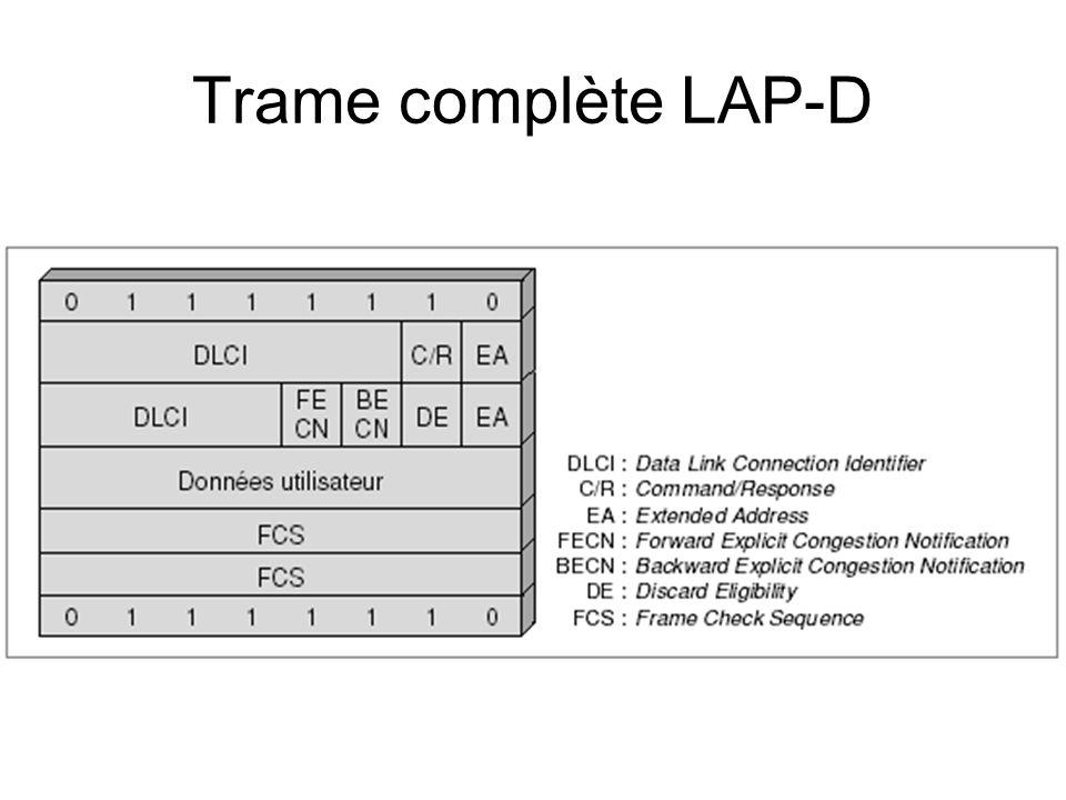 Trame complète LAP-D