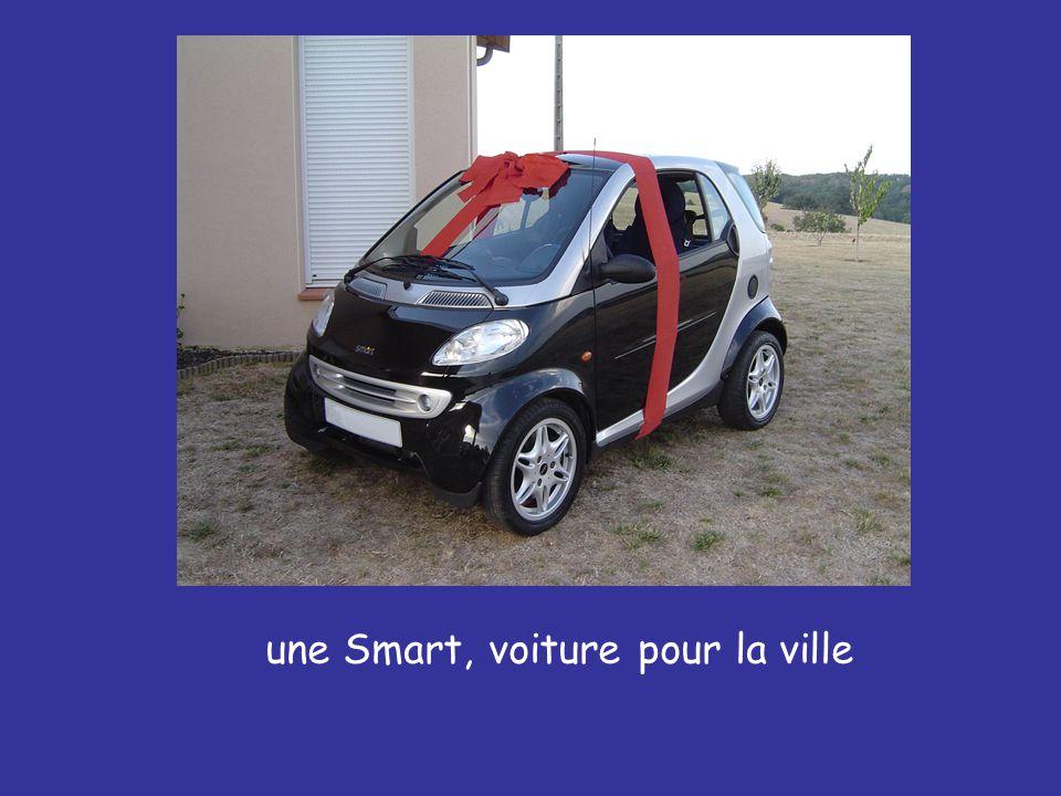 une Smart, voiture pour la ville