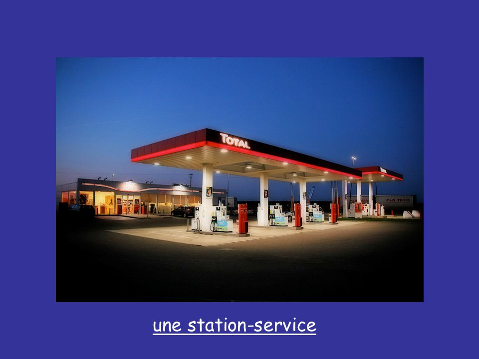 une station-service