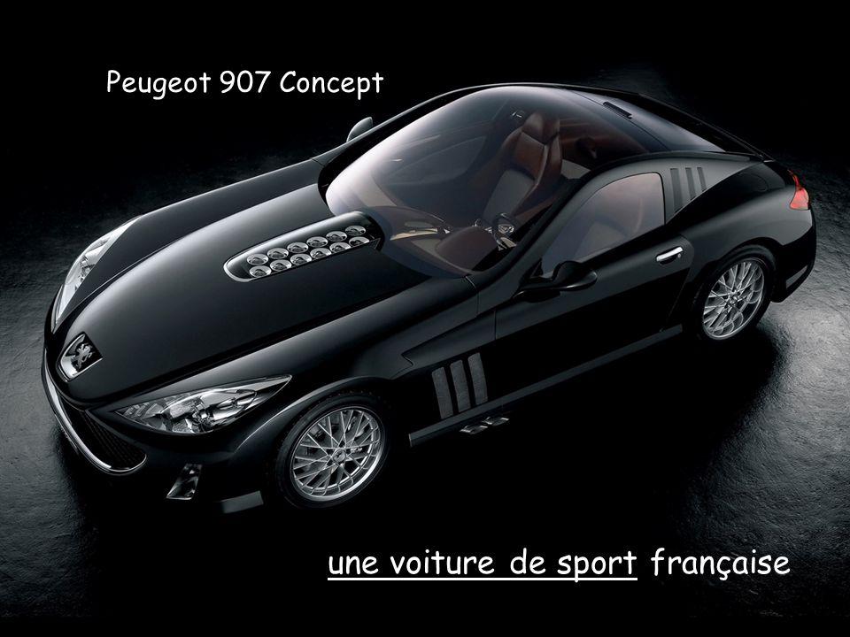 Peugeot 907 Concept une voiture de sport française