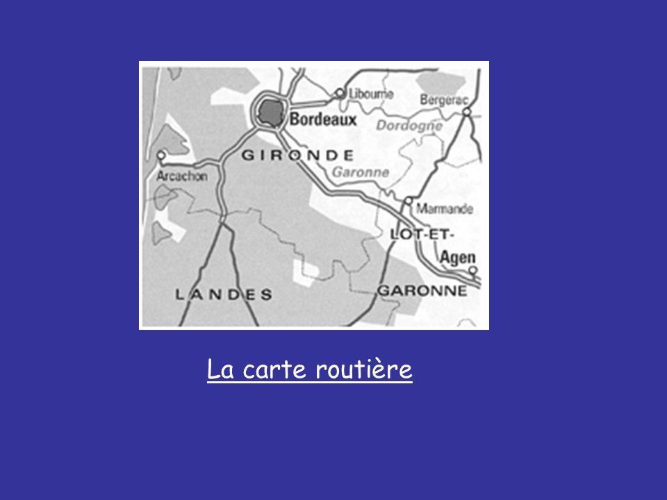 La carte routière