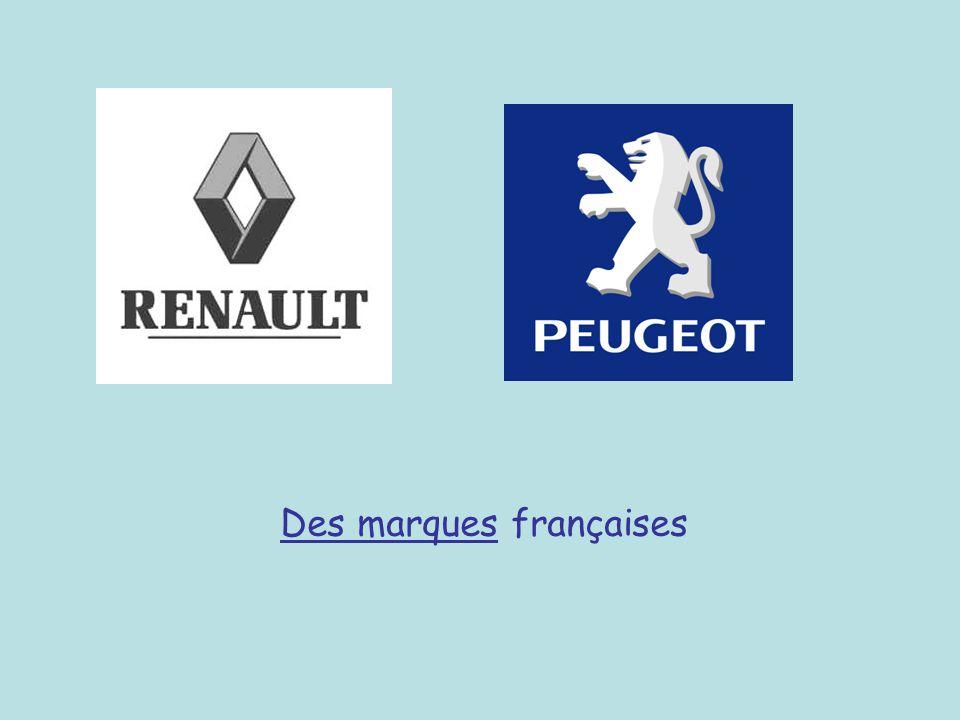 Des marques françaises