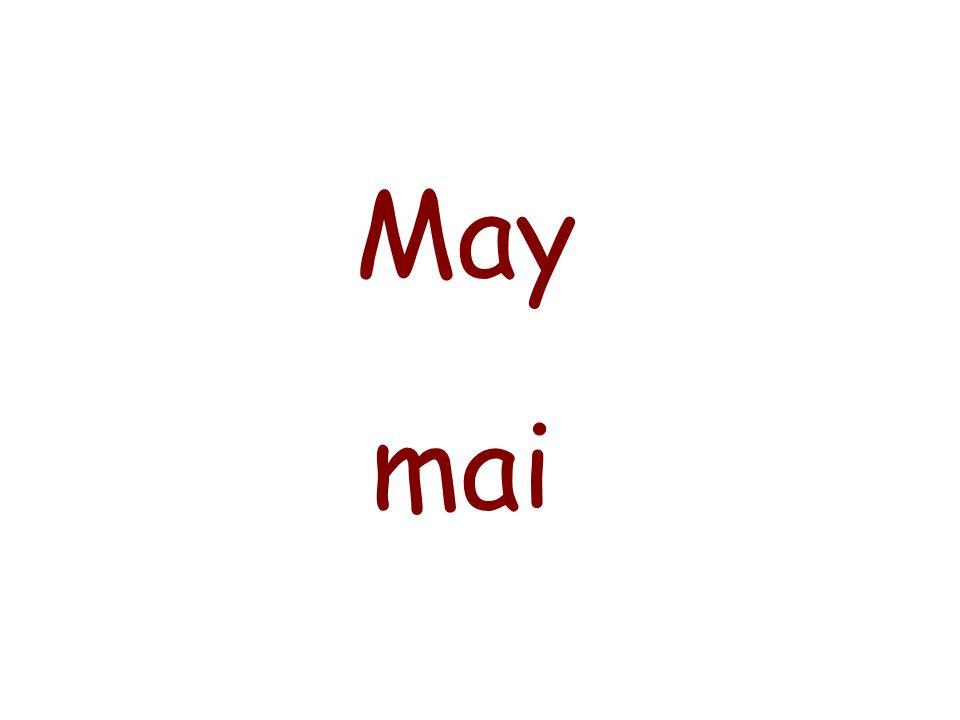 April avril