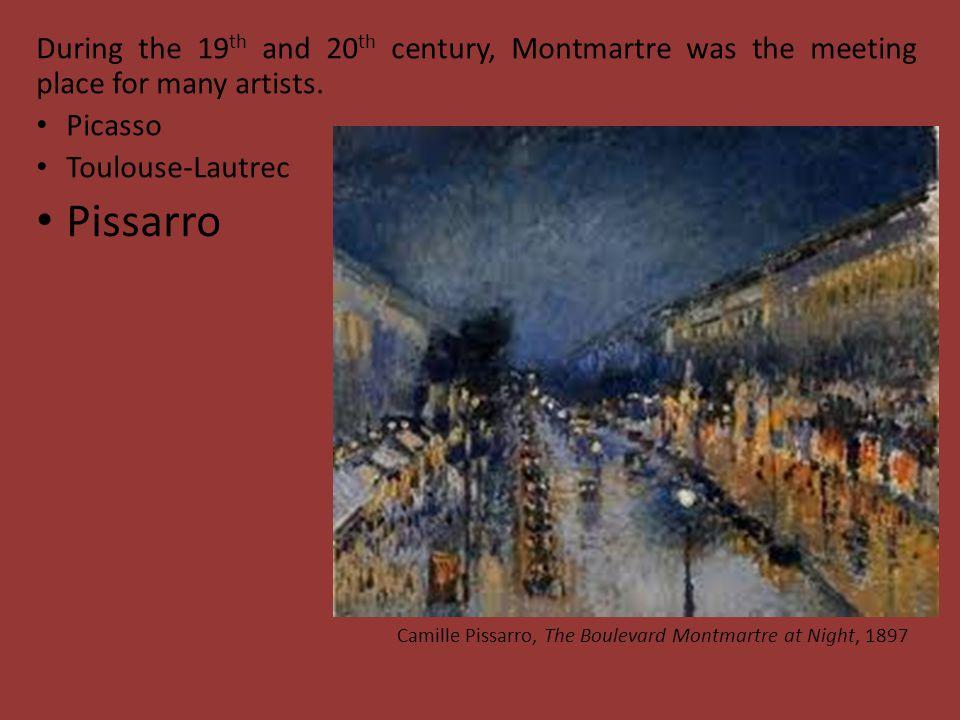 Six movies have been shot in Montmartre.