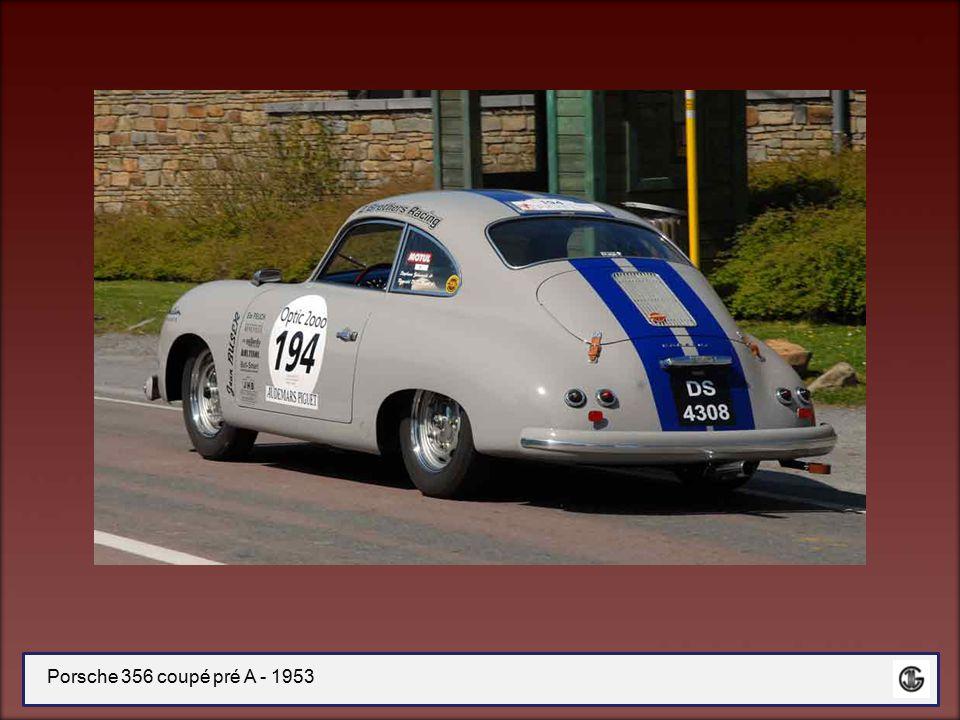 Porsche 356 coupé pré A - 1953