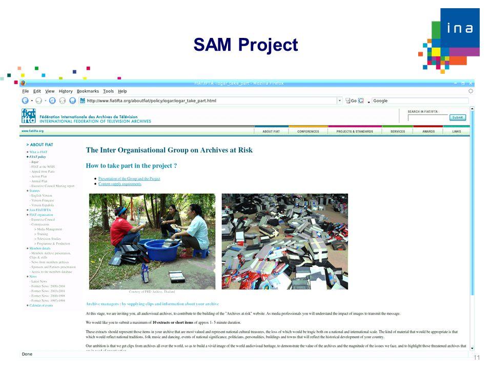 11 SAM Project