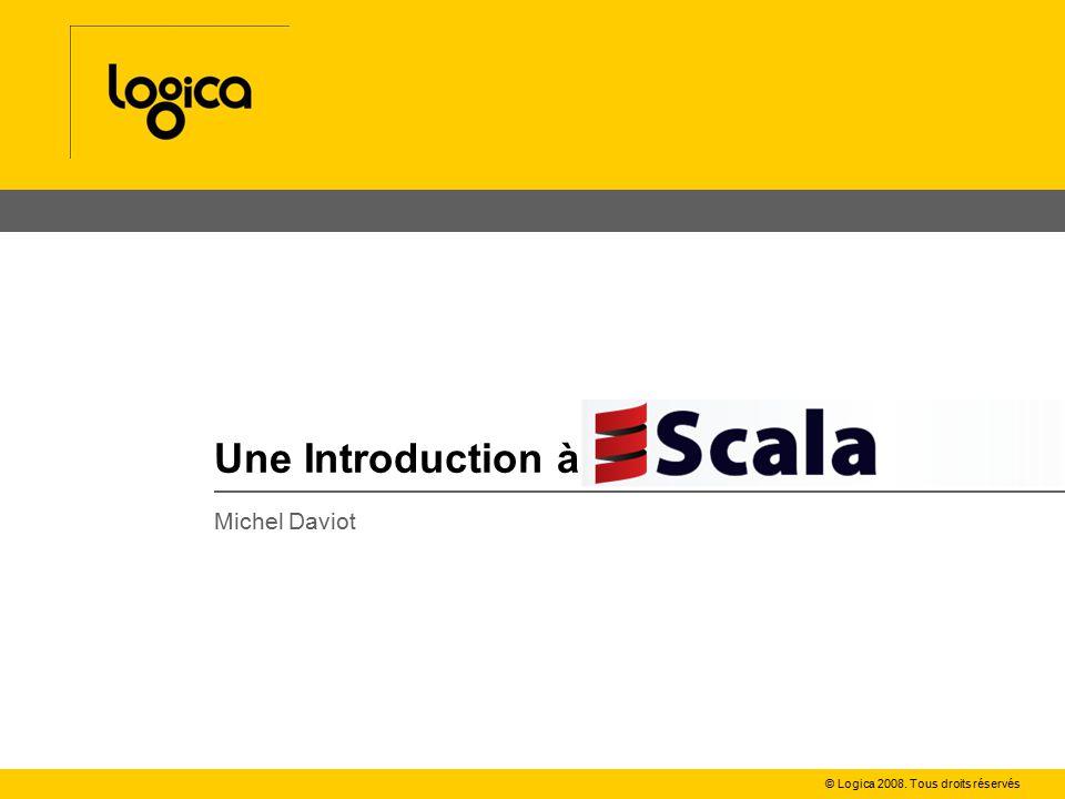 N°3Une introduction à Scala Pattern matching : regexp val url= http://www.allocine.fr:8080/seance/ val regexp= (\w+)://([^/:]+)(:\d+)?/(.*) .r url match { case regexp(protocol, host, port, path) => printf( protocol %s, host %s, port %s, path %s\n , protocol, host, port, path) case _ => println( does not match ) }