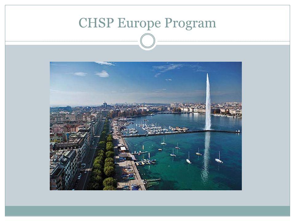 CHSP Europe Program
