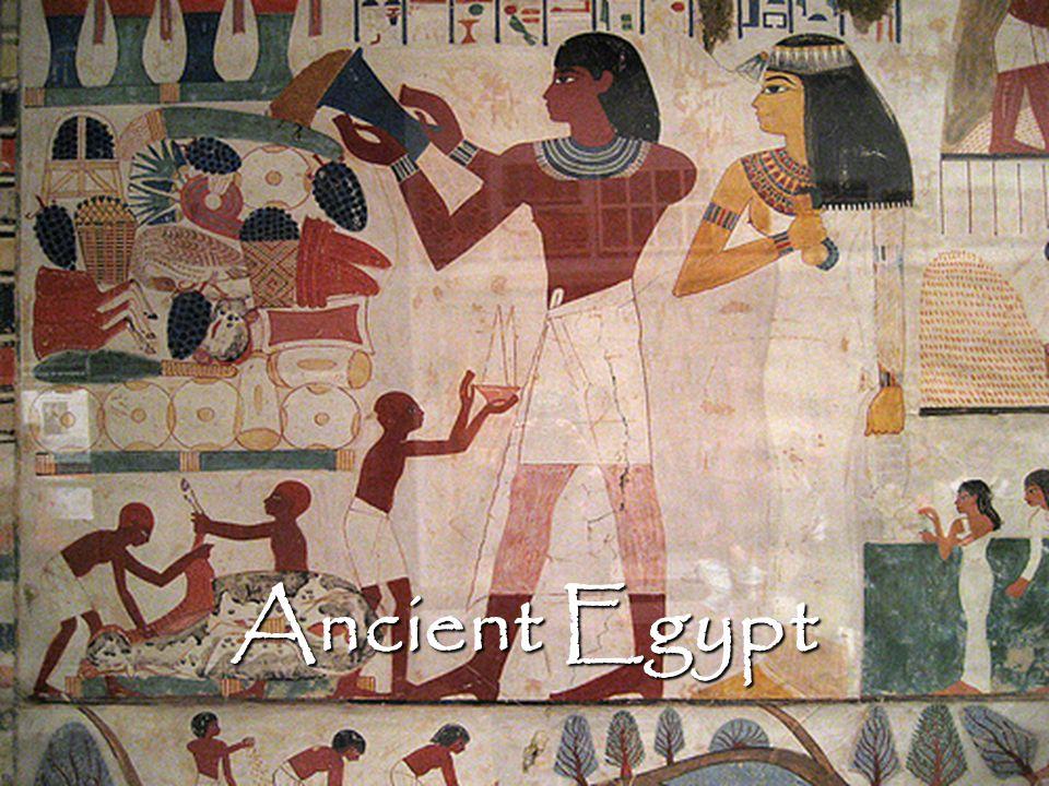 Major Influences The Nile The Nile The Gods The Gods The Afterlife The Afterlife