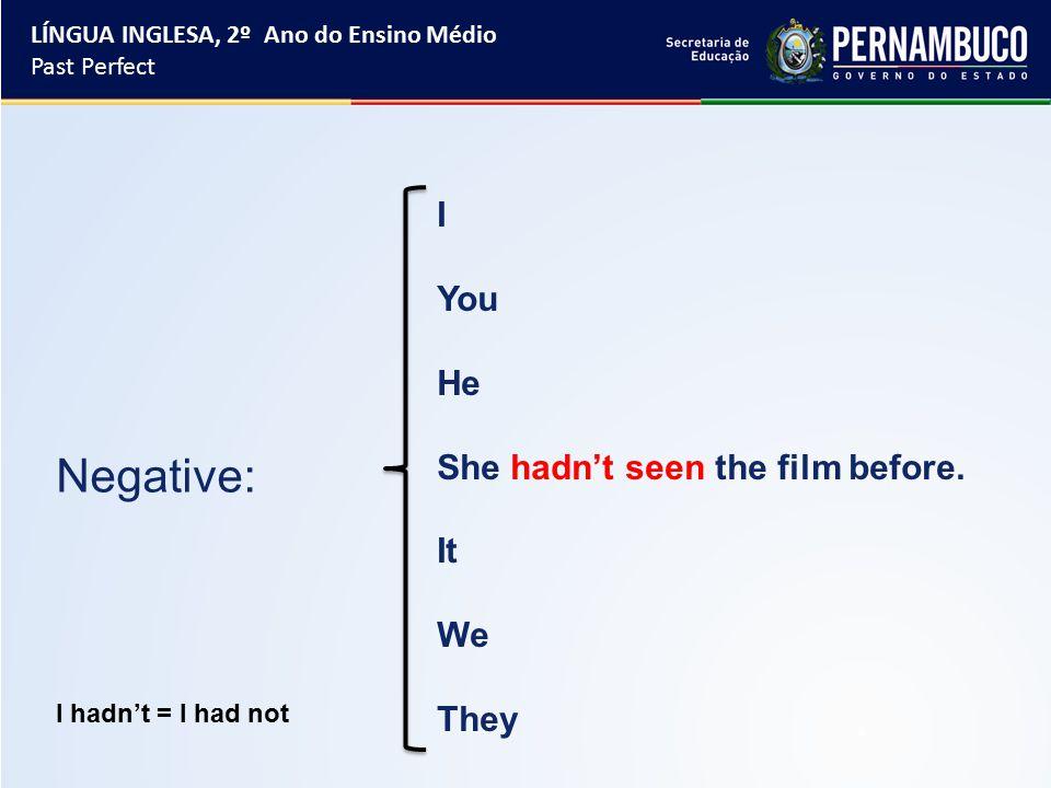 I You He She hadn't seen the film before.