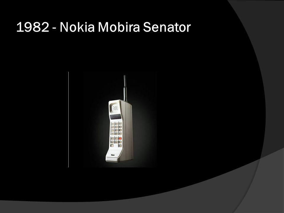 1982 - Nokia Mobira Senator