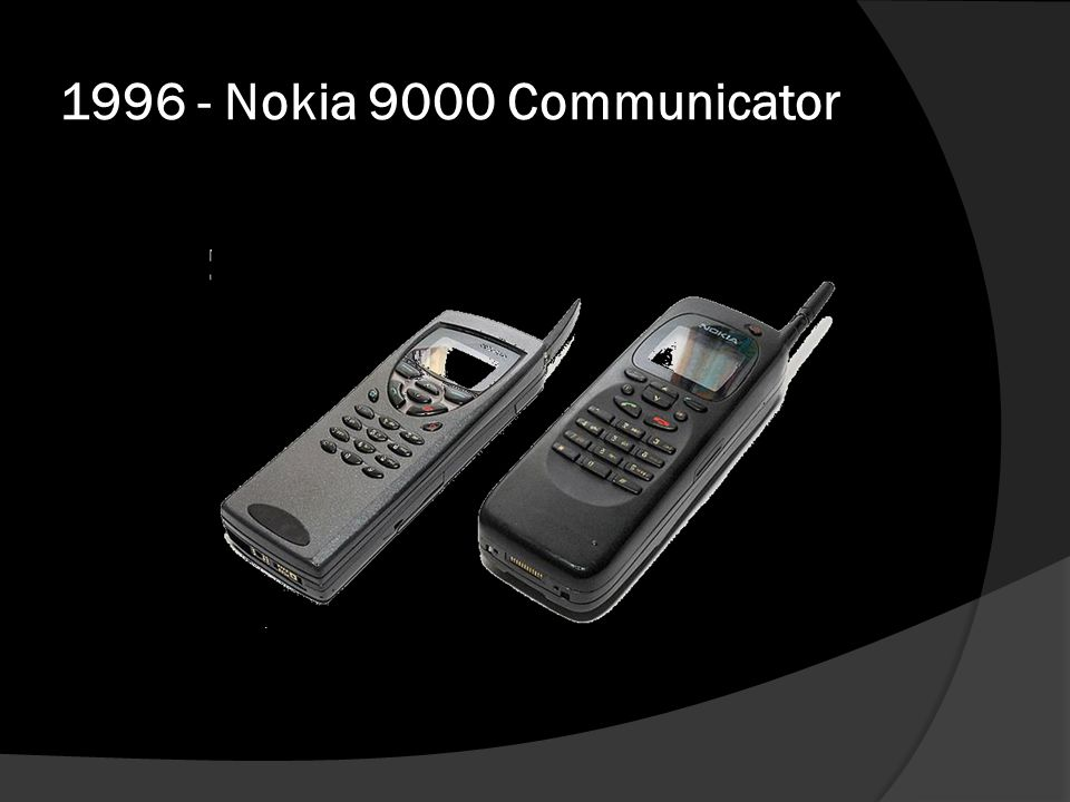 1996 - Nokia 9000 Communicator