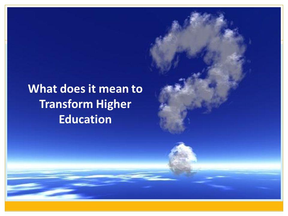 Transformation: Understanding Human Capacity 6