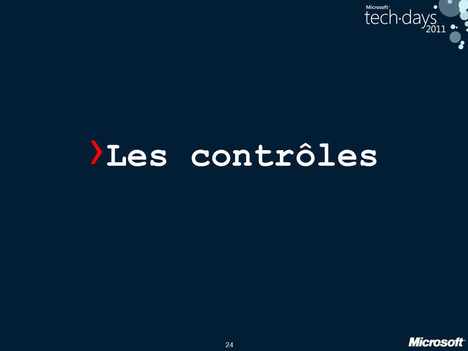 24 › Les contrôles