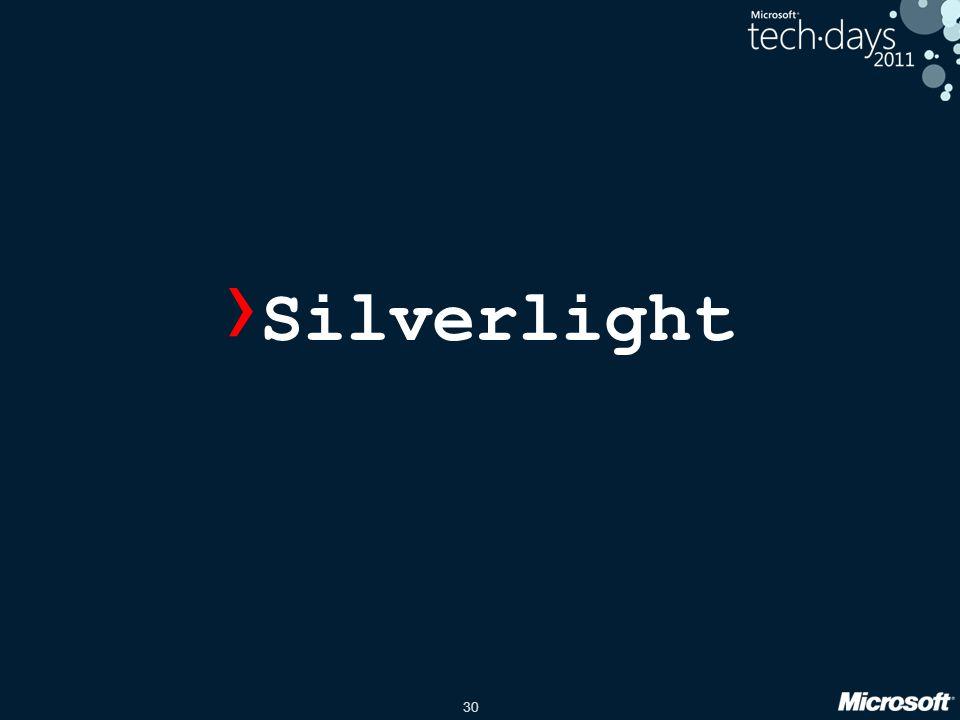 30 › Silverlight
