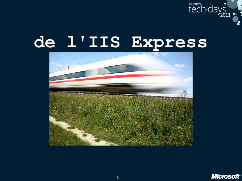 8 de l'IIS Express