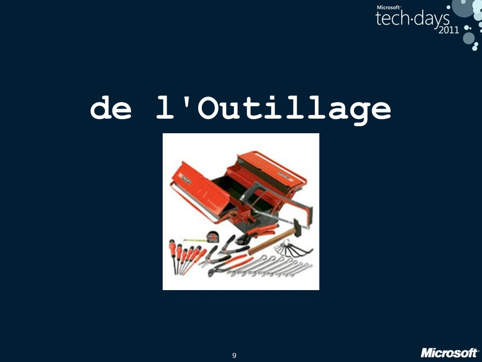 9 de l Outillage
