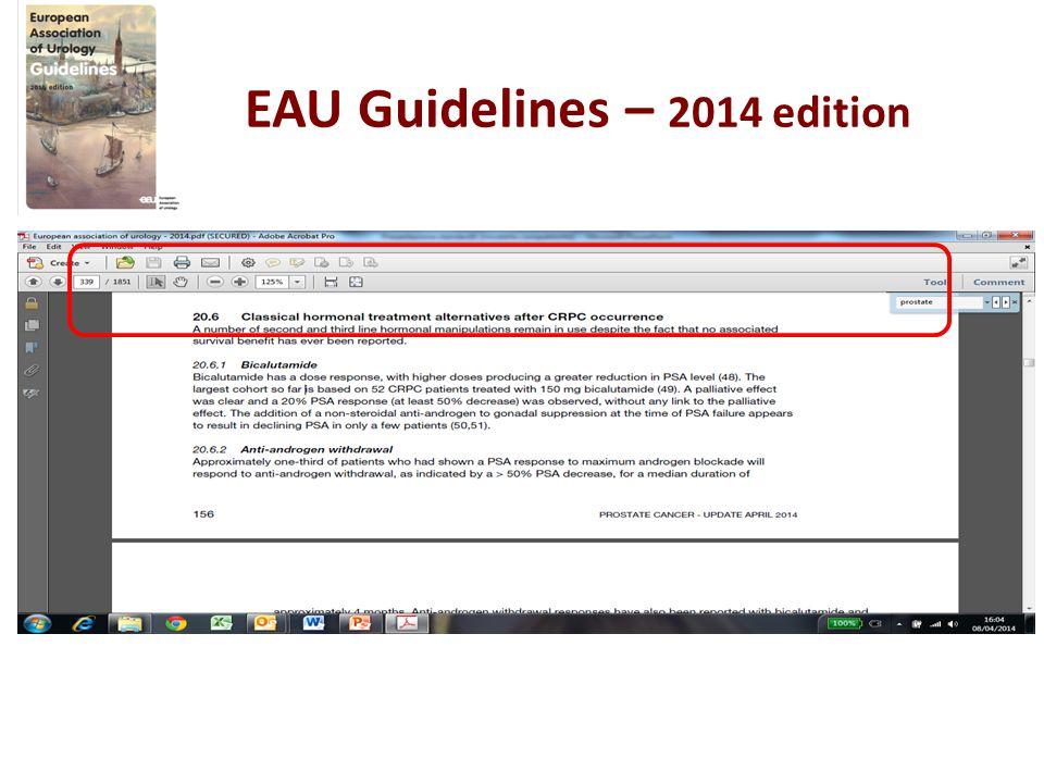EAU Guidelines – 2014 edition
