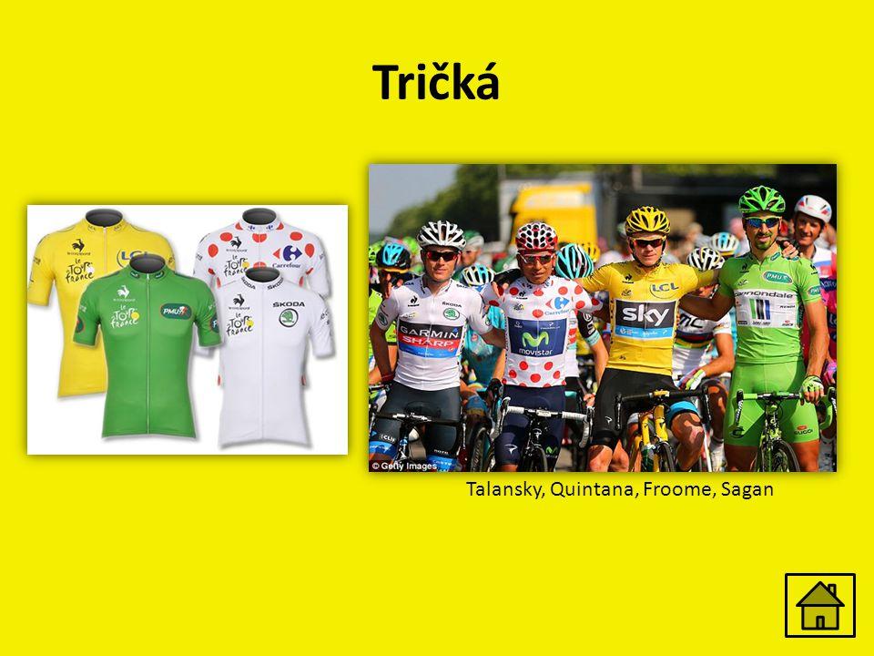 Tričká Talansky, Quintana, Froome, Sagan