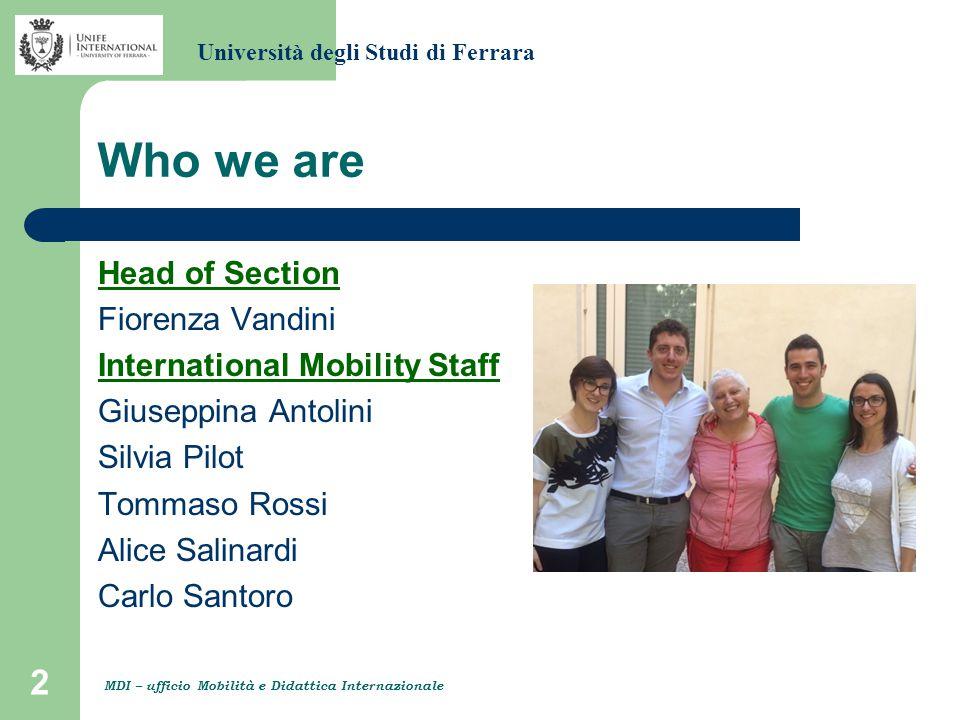 13 International degree-seeking students