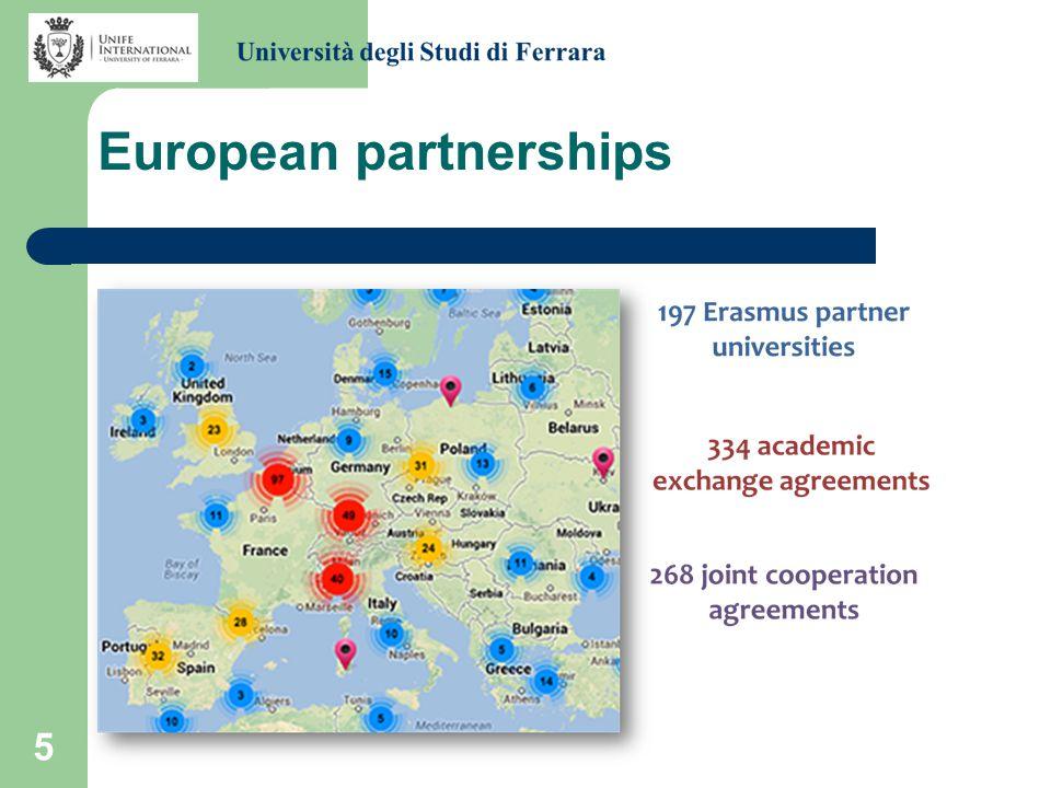 5 European partnerships