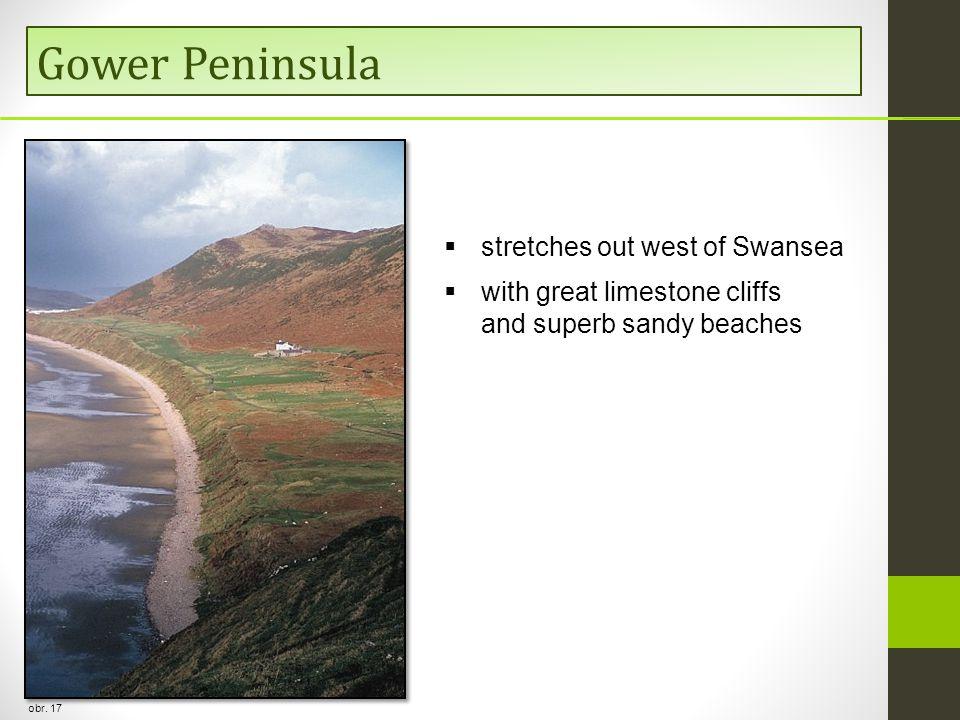Gower Peninsula obr.
