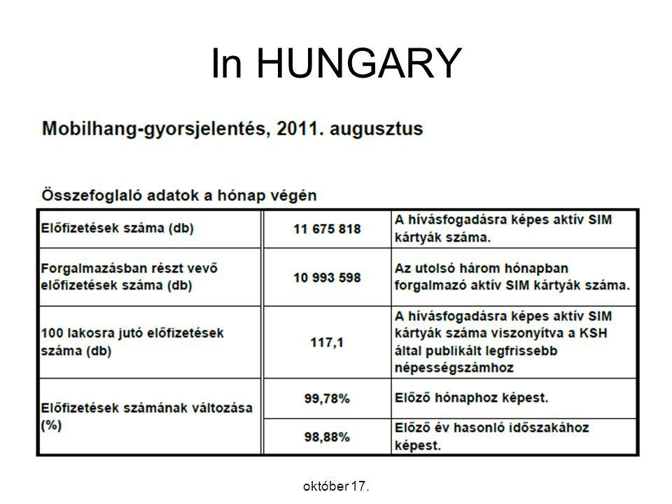 8 In HUNGARY