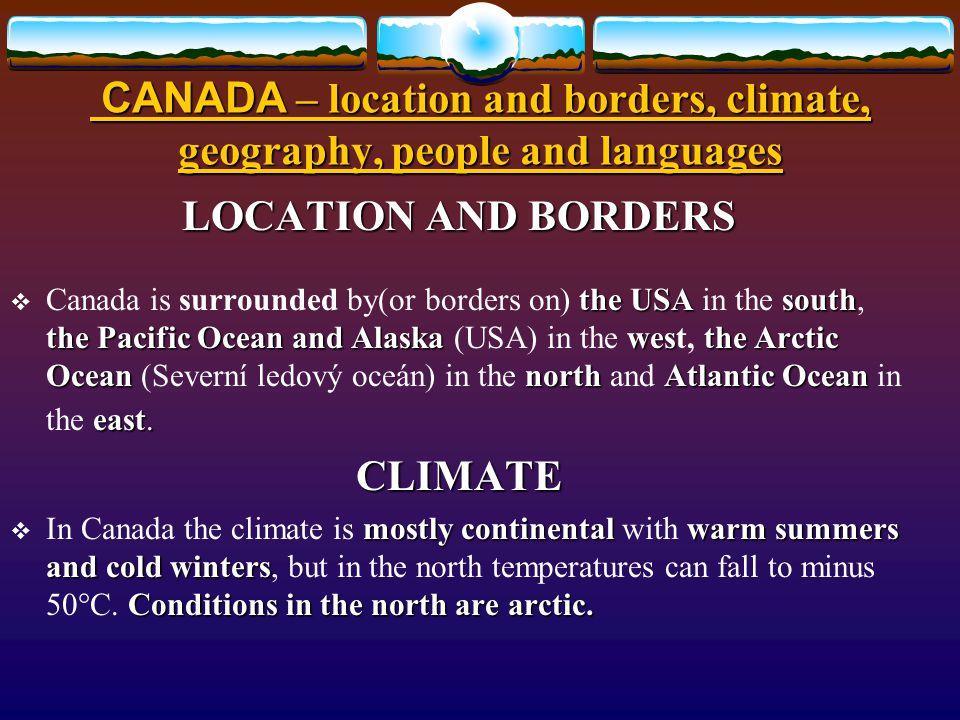 Způsob využití: Způsob využití: určeno pro výklad a procvičení základních znalostí o geografii, klimatu, poloze a obyvatelstvu Kanady.