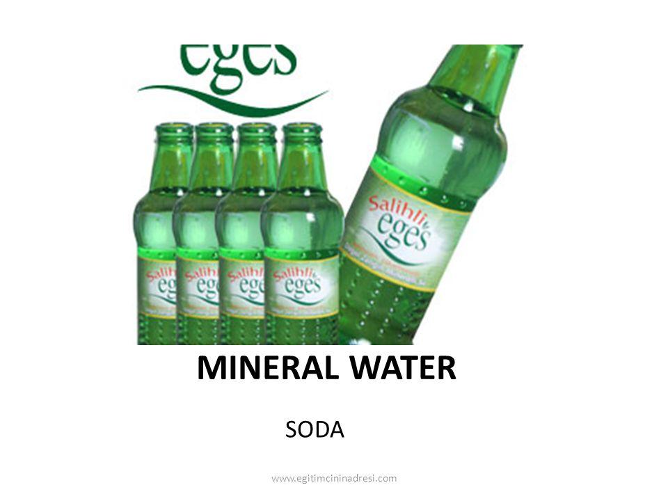 MINERAL WATER SODA www.egitimcininadresi.com