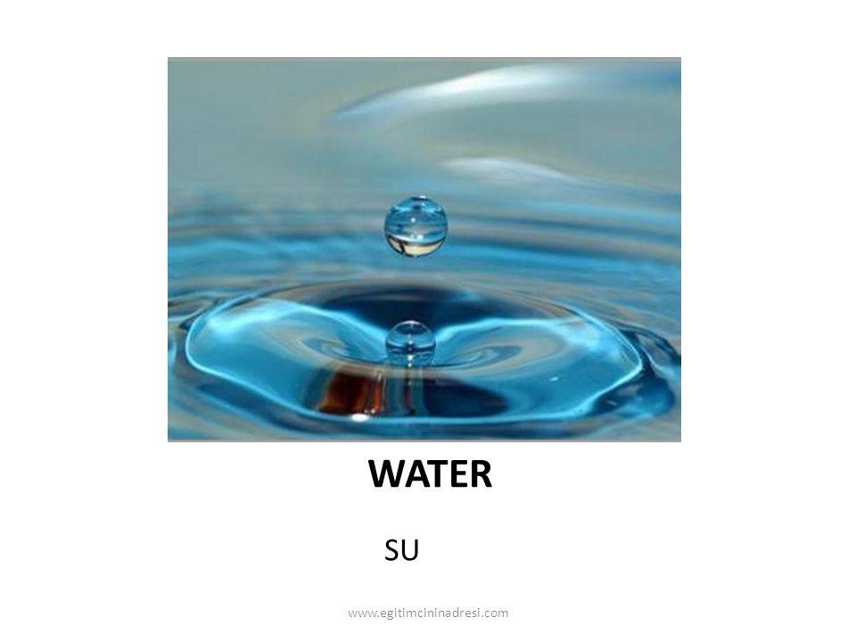 WATER SU www.egitimcininadresi.com