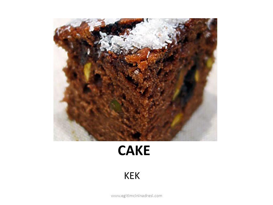 CAKE KEK www.egitimcininadresi.com