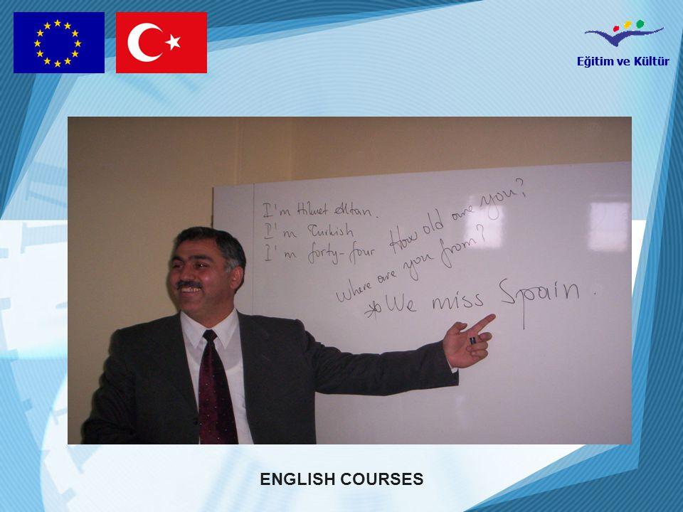 Eğitim ve Kültür ENGLISH COURSES