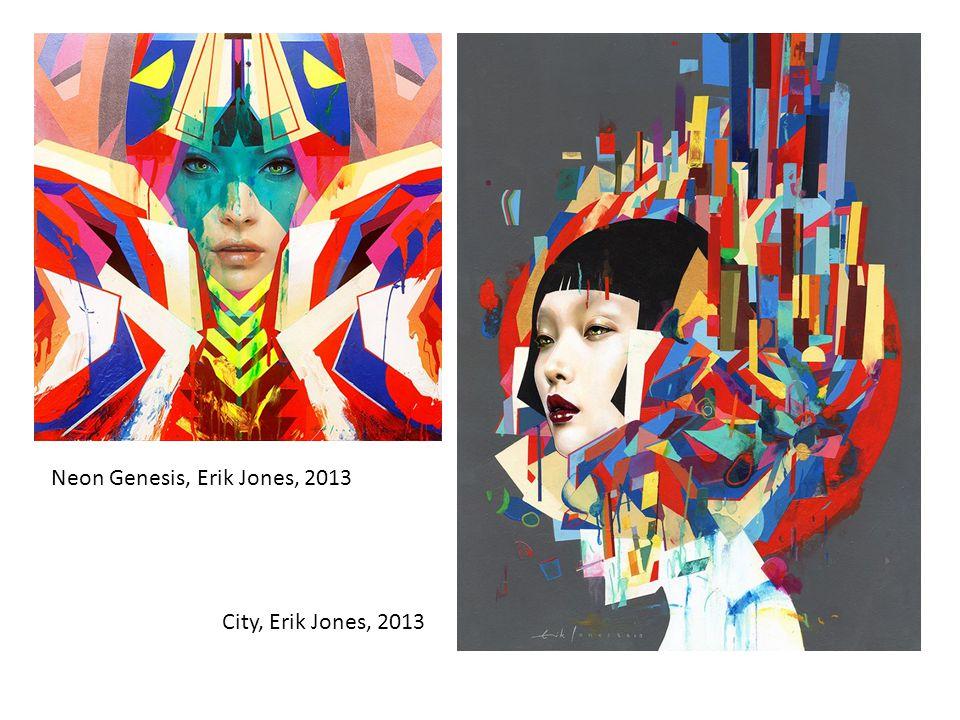 Neon Genesis, Erik Jones, 2013 City, Erik Jones, 2013