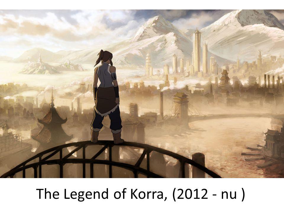 The Legend of Korra, (2012 - nu )