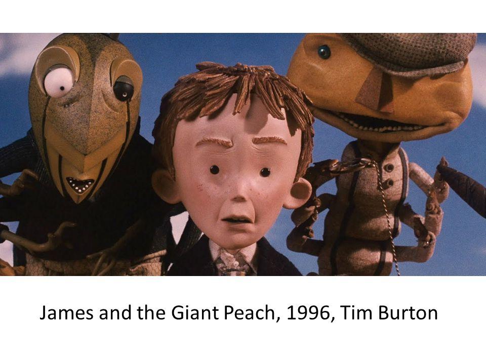 James and the Giant Peach, 1996, Tim Burton