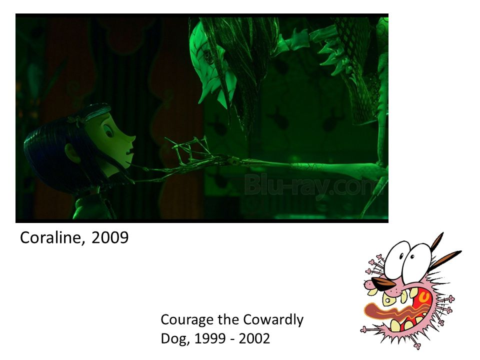 Coraline, 2009 Courage the Cowardly Dog, 1999 - 2002