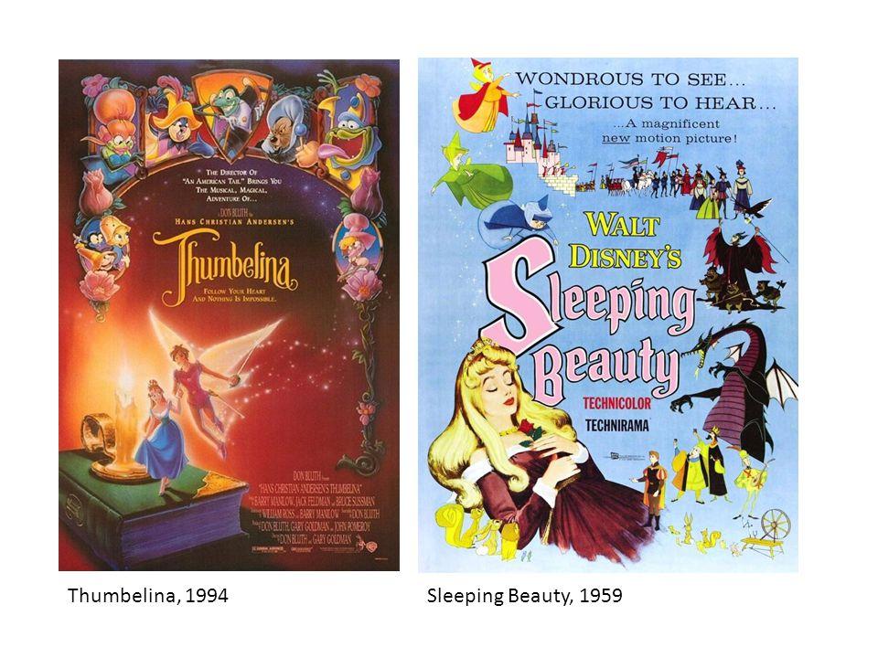 Thumbelina, 1994Sleeping Beauty, 1959