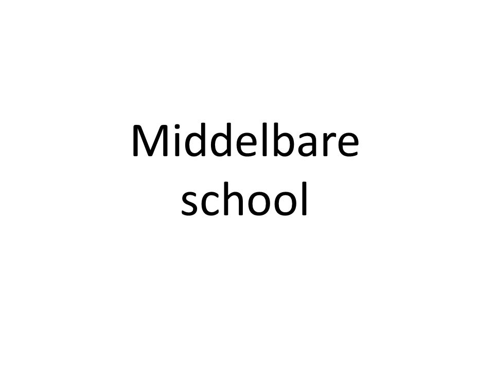 Middelbare school