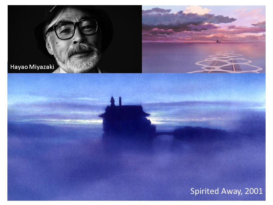 Hayao Miyazaki Spirited Away, 2001
