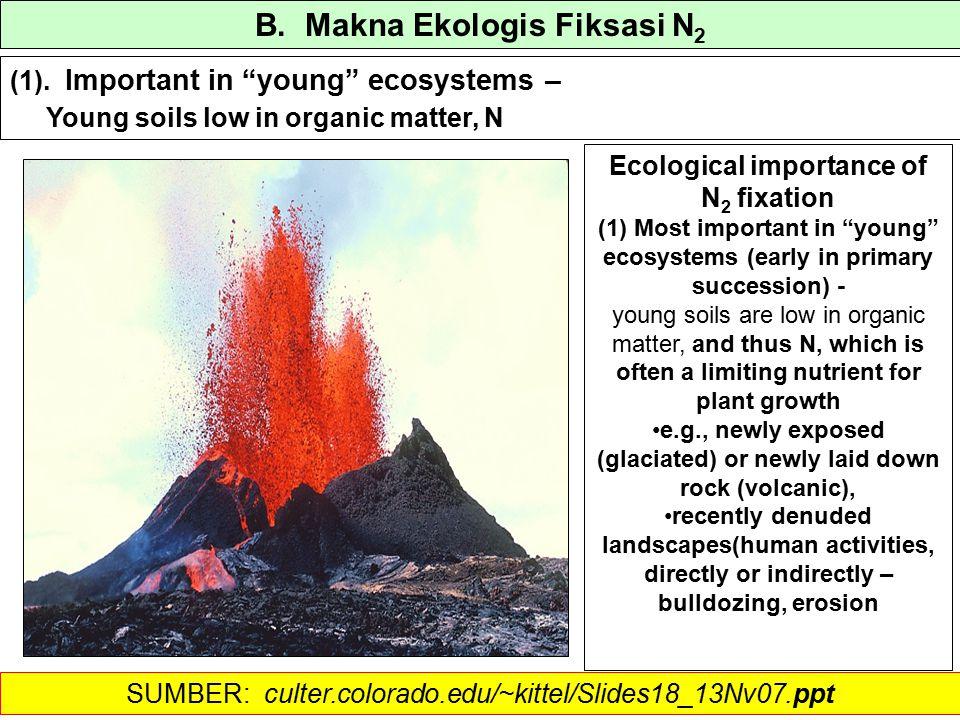 B. Makna Ekologis Fiksasi N 2 (1).