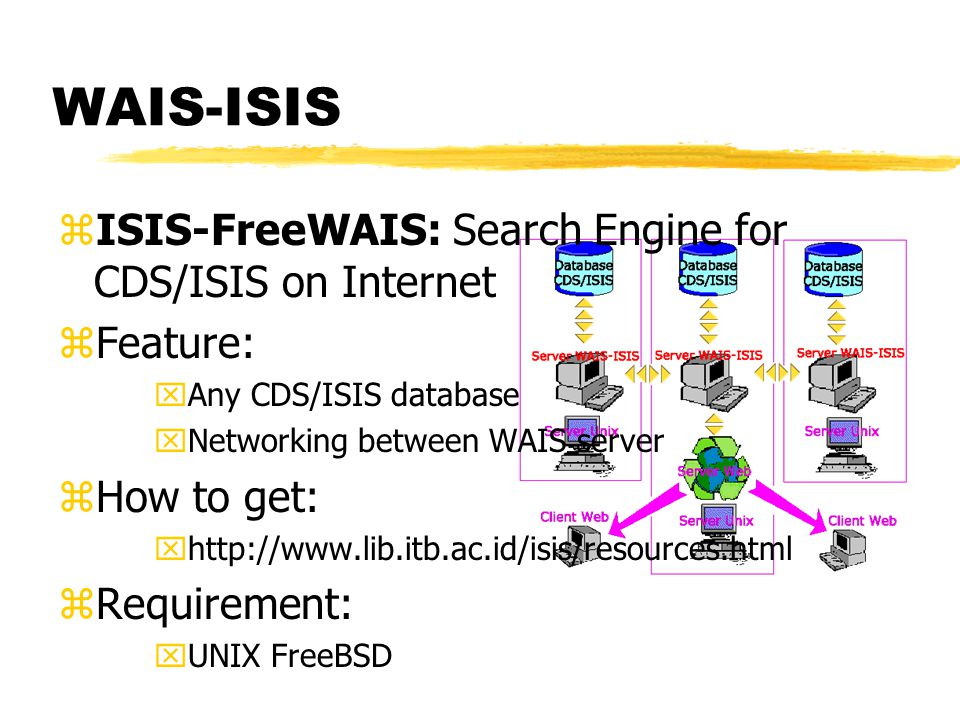 CDS/ISIS freeware zWhere to get. xHttp://www.unesco.org/ zHow to get.