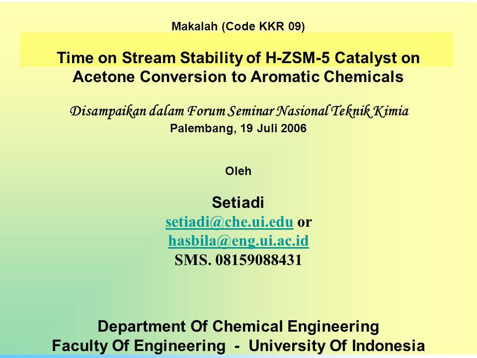 Hidrokarbon C 1 - C 10 Aseton Aseton : senyawa organic polar yang dapat diproduksi dari materi hayati renewable mll.