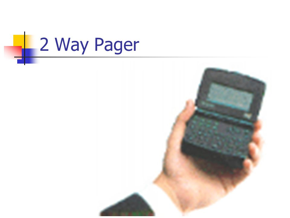 2 Way Pager